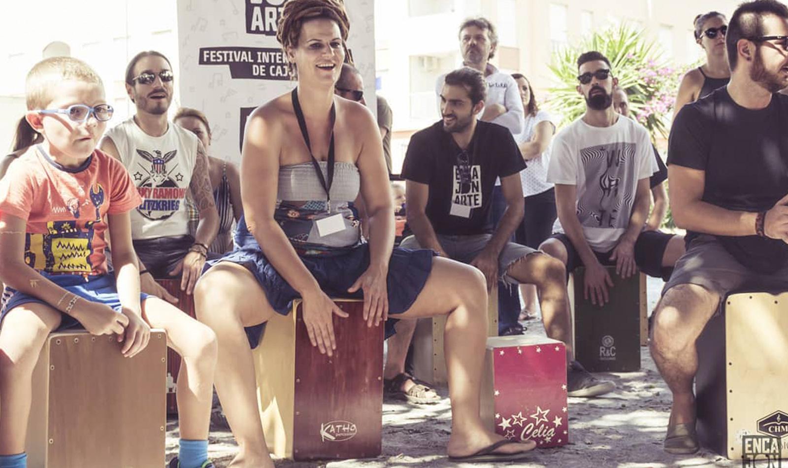 PLAY CAJÓN. Team Building de percusión flamenca