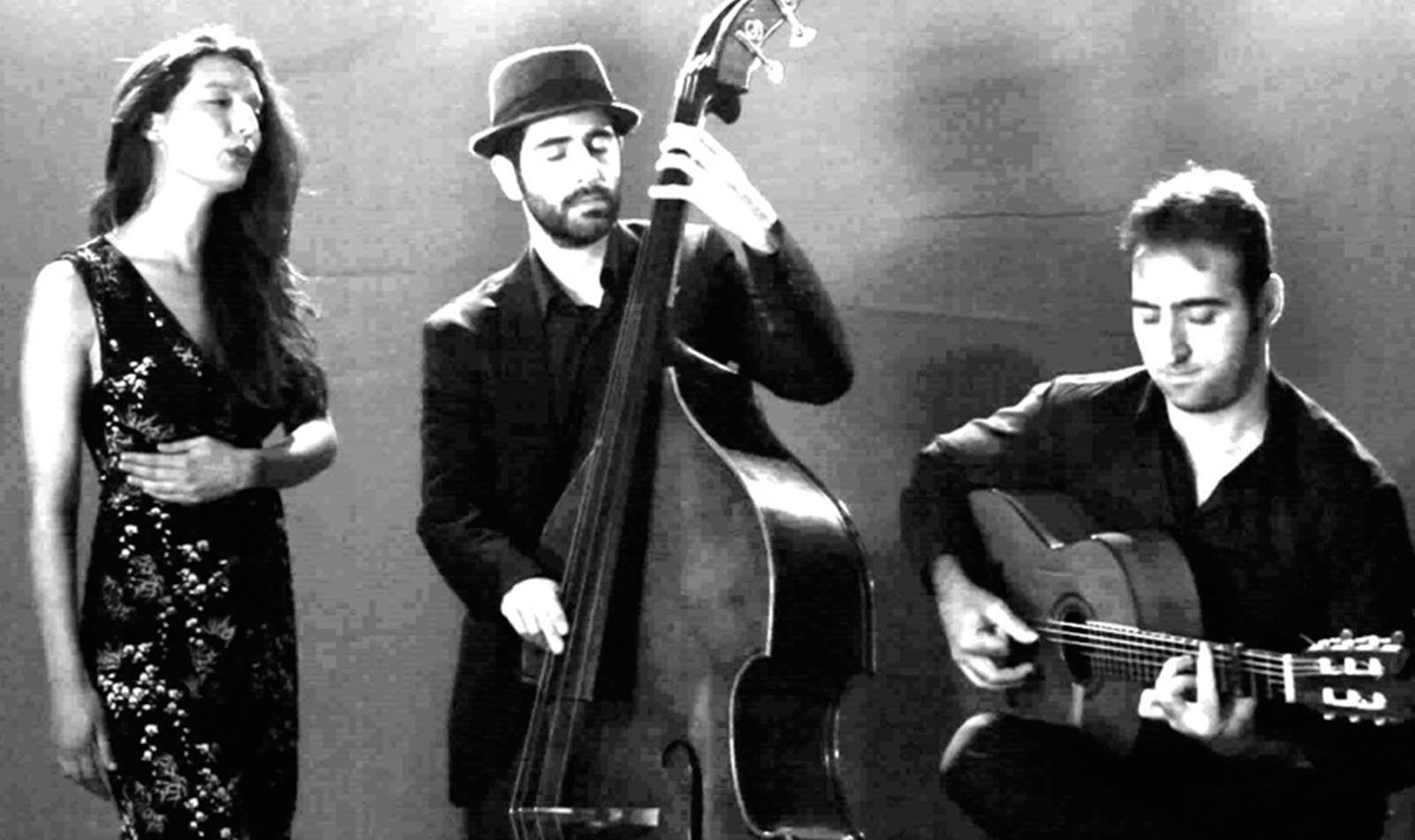 Trio flamenco fusión jazz chill