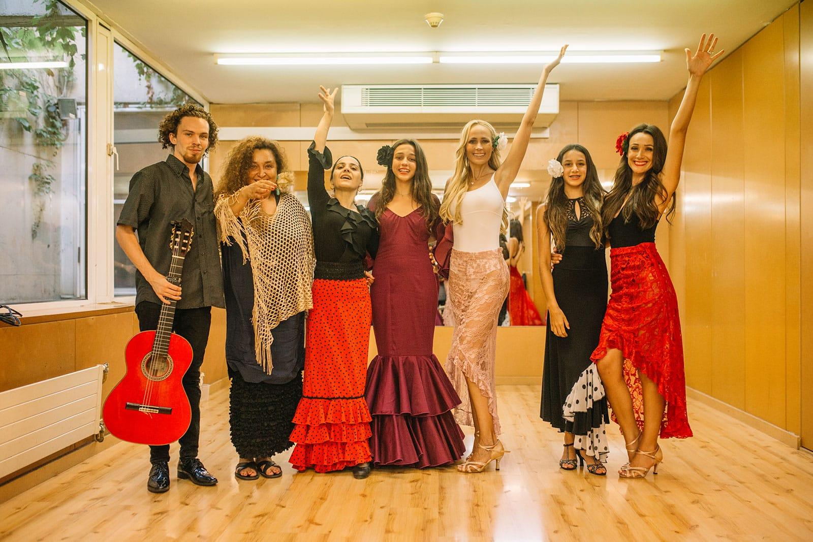 Team Building Flamenco dance