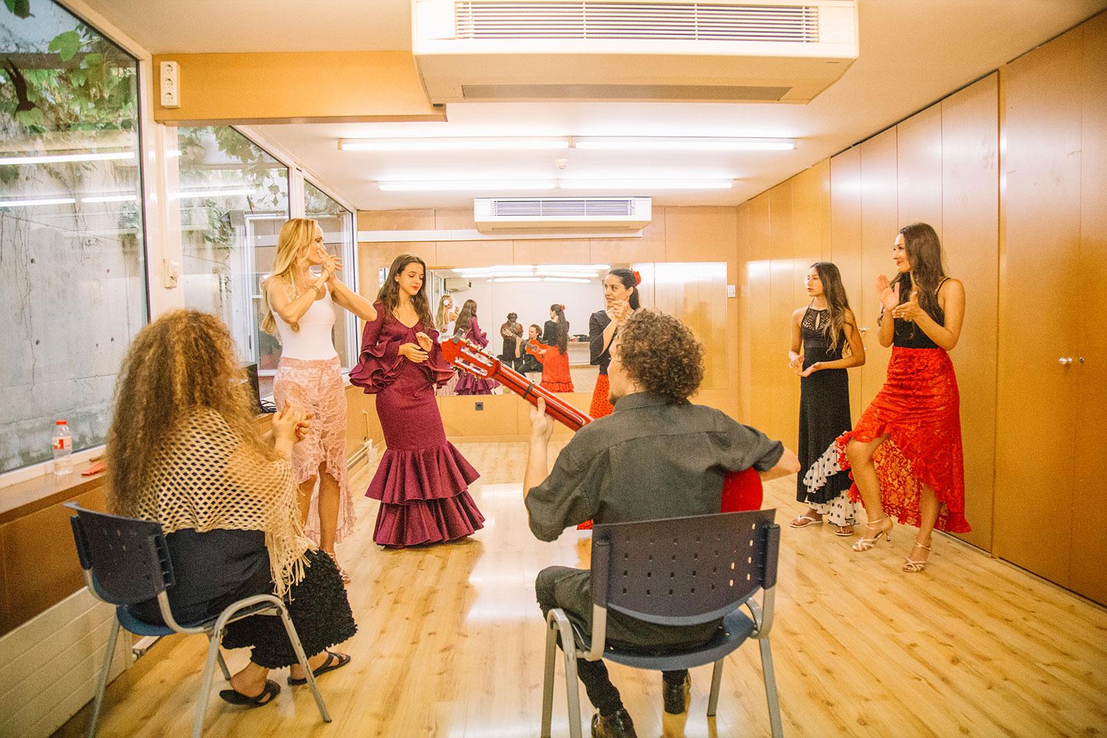 Taller flamenco en Barcelona