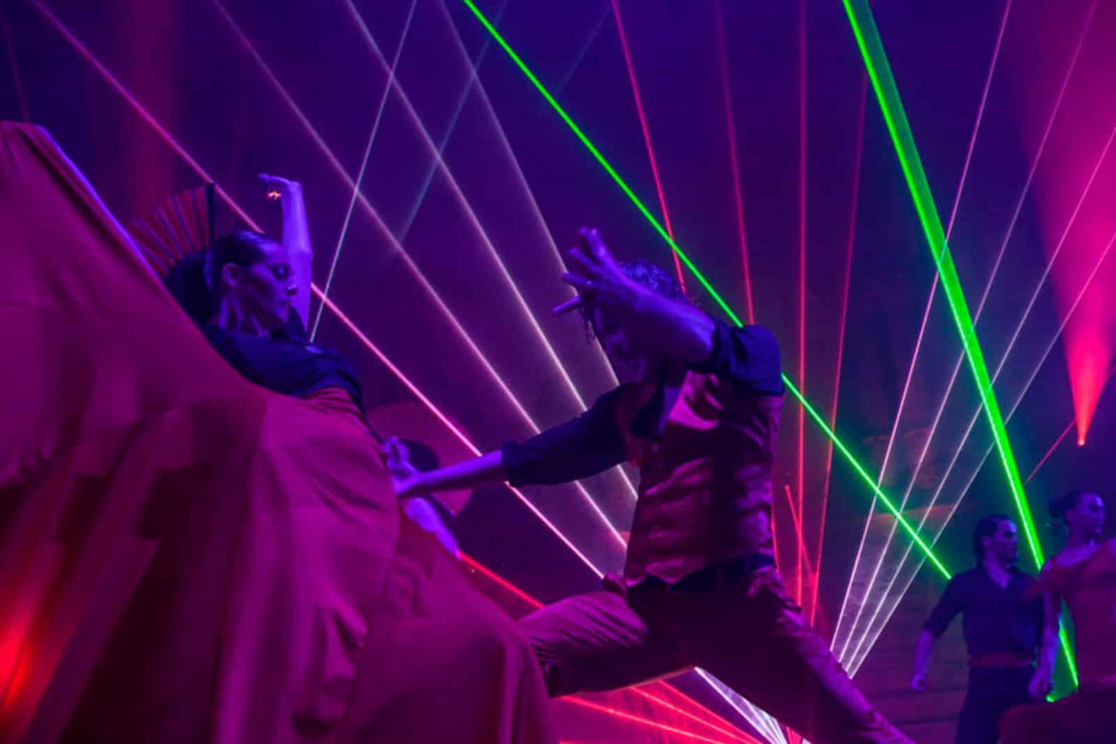 Flamenco Laser Show