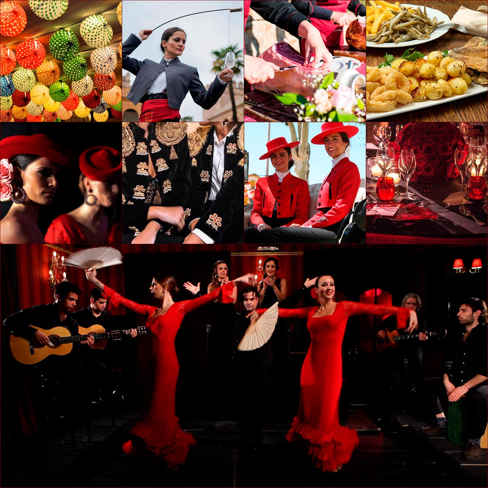 Dinner with flamenco show in Barcelona. Your private gala and Flamenco dinner.