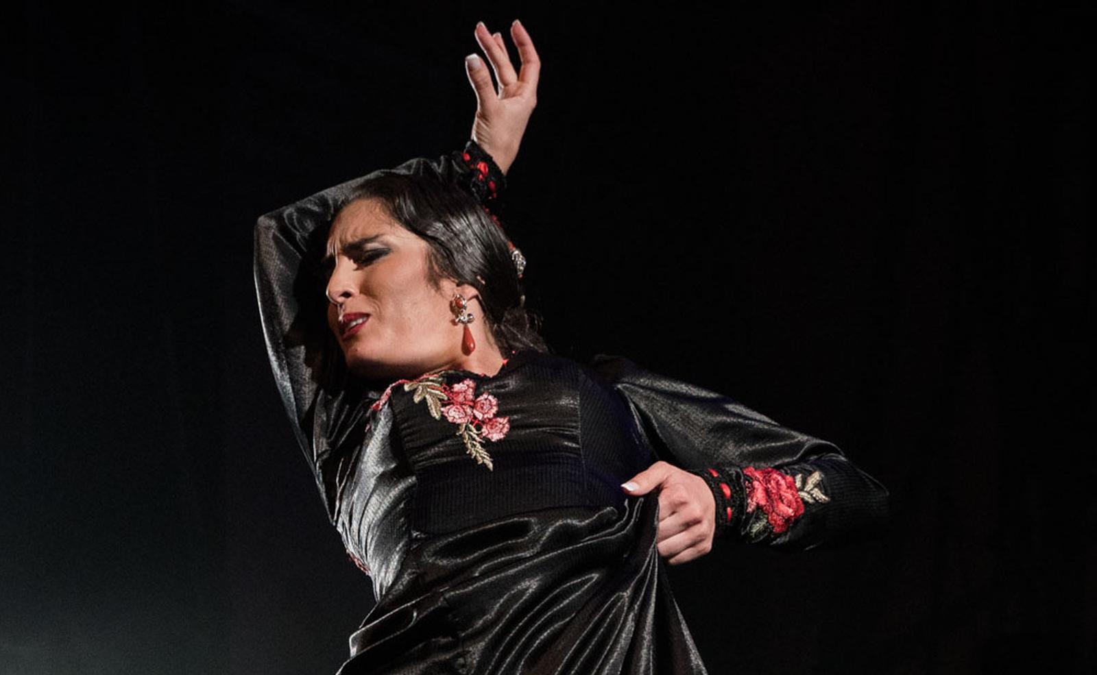 Olga traditional flamenco dance