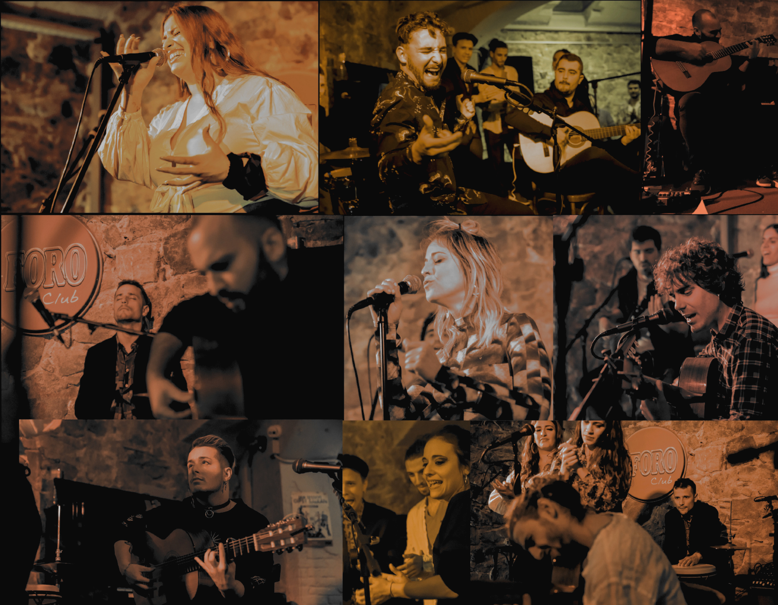 Total success of the FLAMENCO JAM SESSION in Barcelona