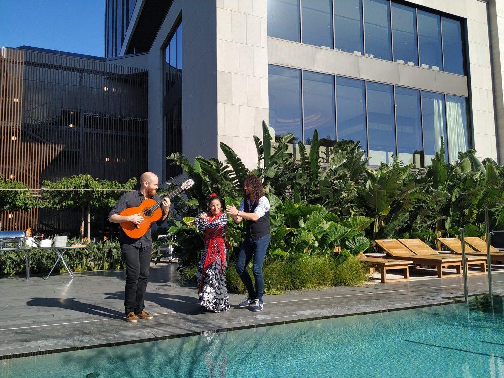 Flamenco Show para evento corporativo en Hotel SOFIA Barcelona