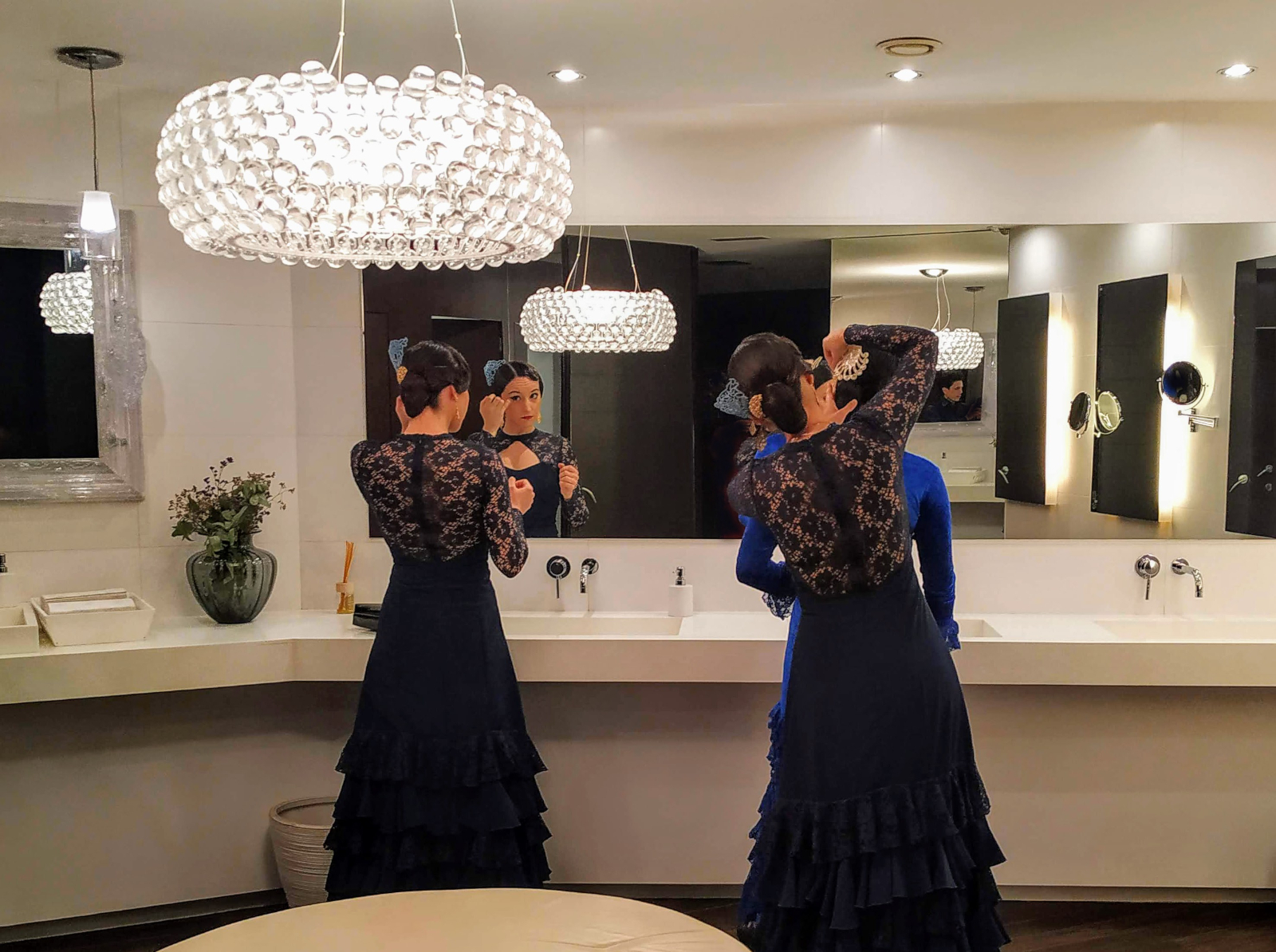 Guests at corporate gala party in Spain immerse themselves in the local culture