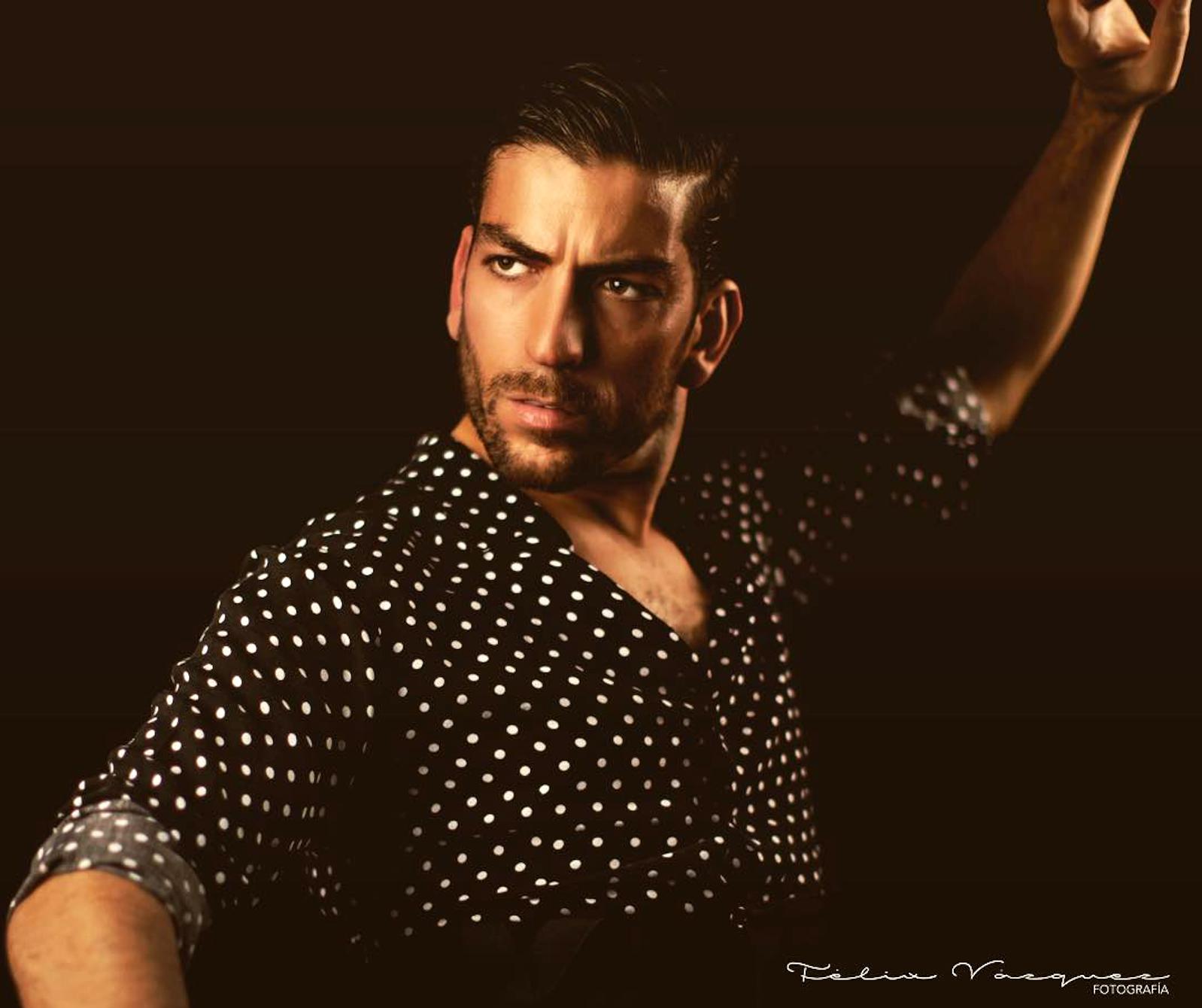 El baile flamenco masculino