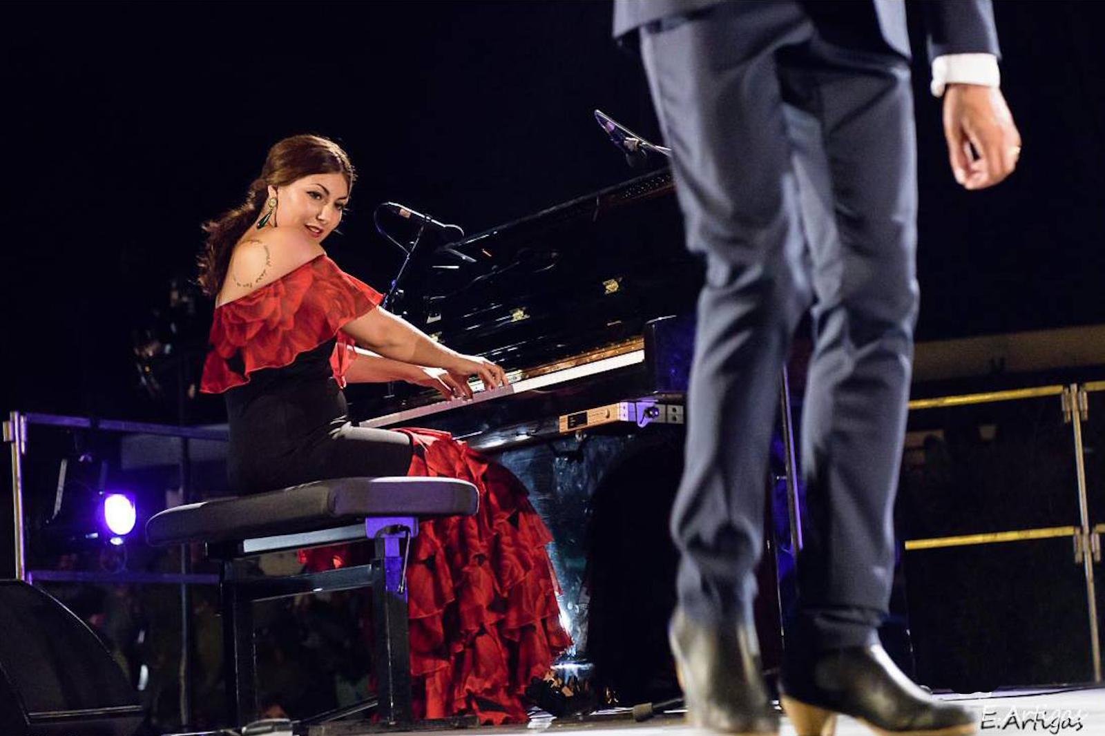 El piano flamenco