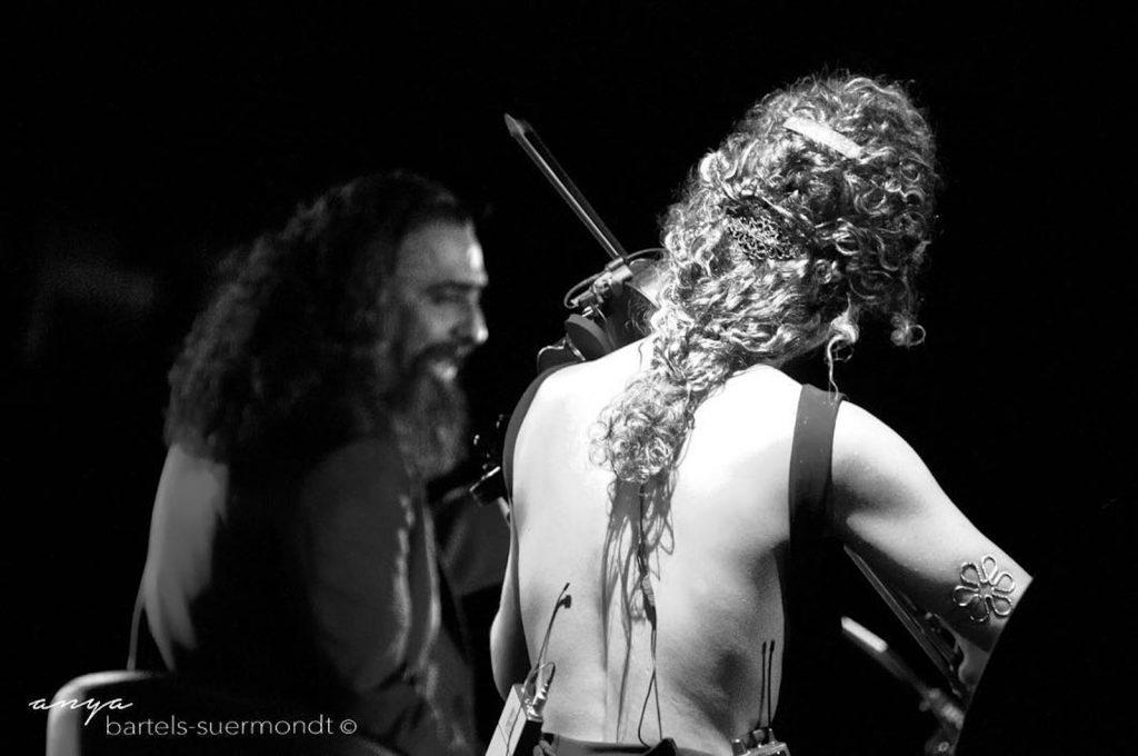 Violín flamenco como voz principal en su evento
